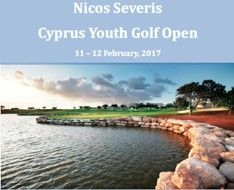 Nicos Severis Cyprus Youth Golf Open 2017