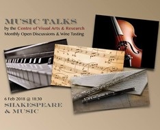 Music Talks: Shakespeare & Music
