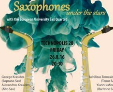 Saxophones under the stars