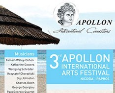 3rd Apollon International Arts Festival