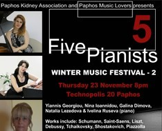 five pianists