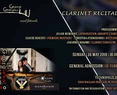 clarinet recital