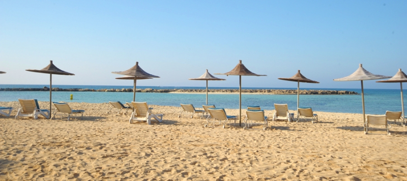 Agia Thekla Beach - Blue Flag