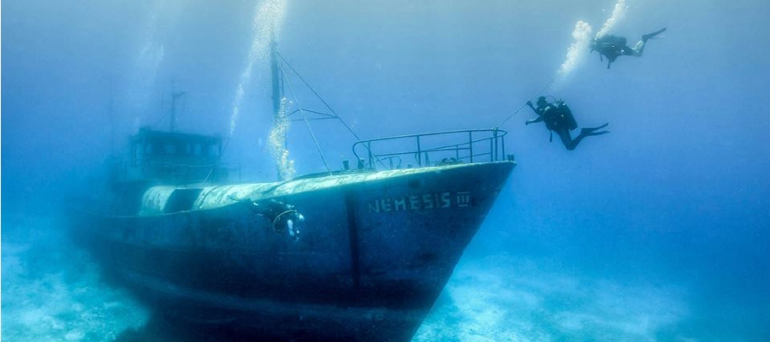 Fishing Vessel Nemesis III Diving Site