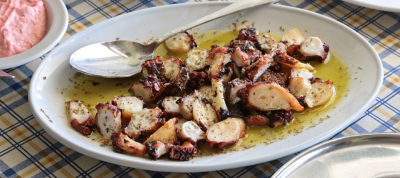 Octopus with Oregano