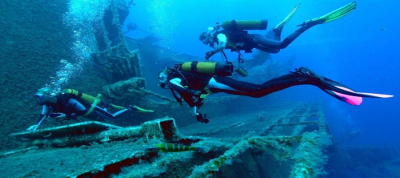 The White Star Wreck Diving Site