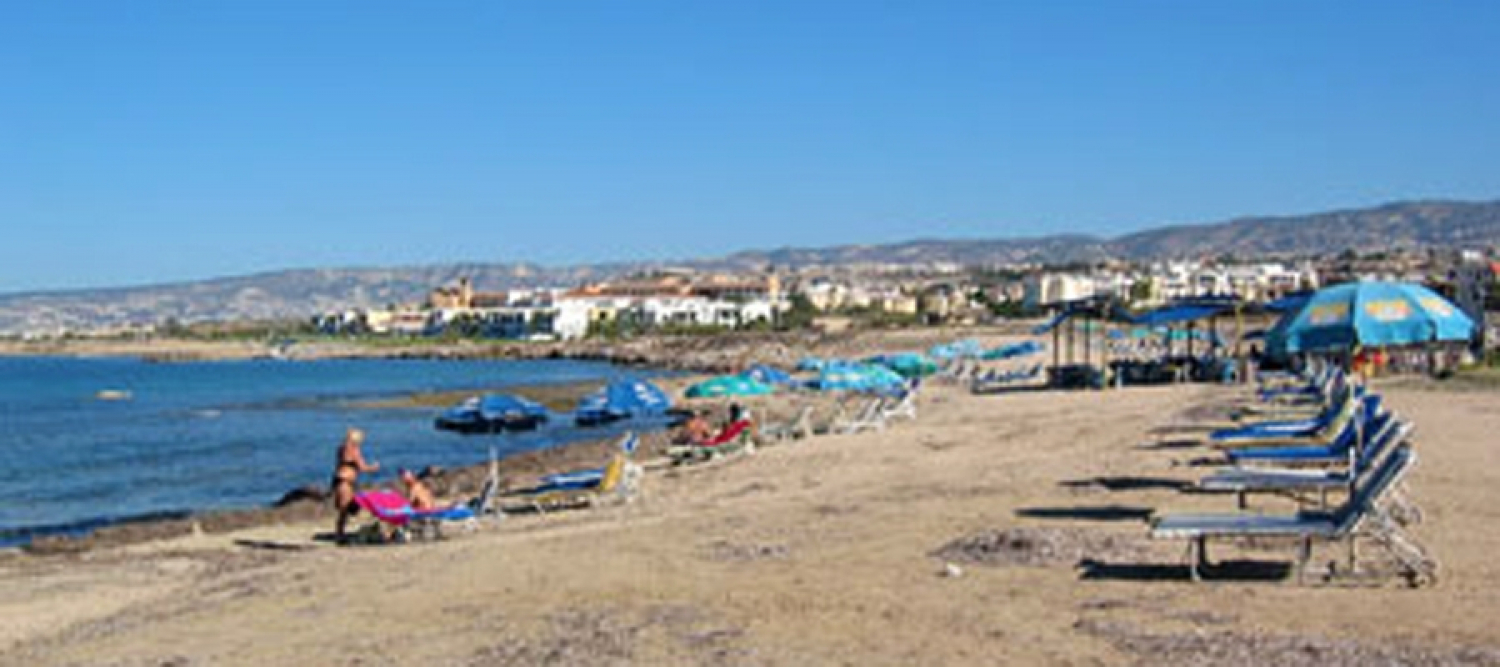 Faros Beach, Pafos (Paphos) - Blue Flag
