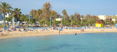 Pernera A Beach, Agia Napa - Blue Flag
