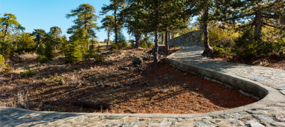 Parcours cyclable Pitsylia - Troodos