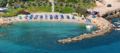 Nisia Loumbardi Beach - Blue Flag