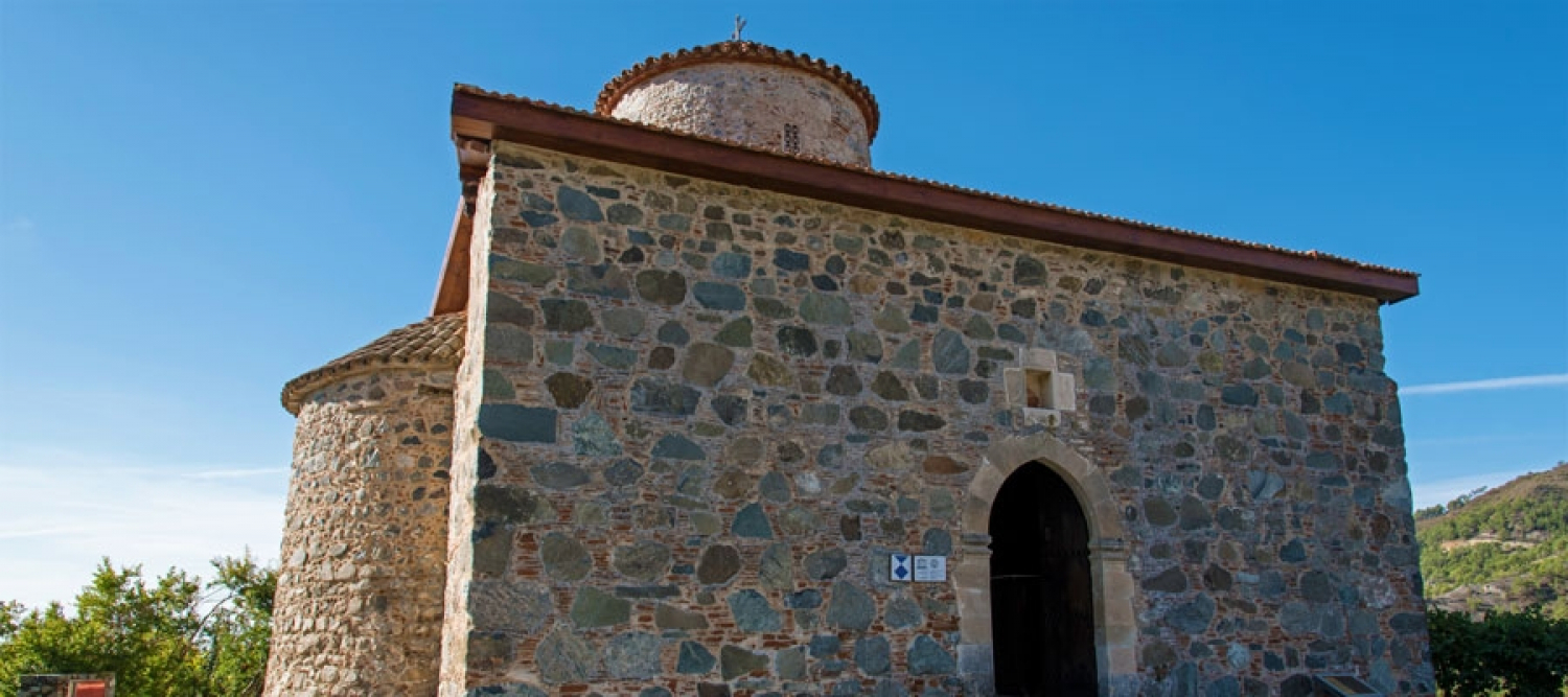 Timios Stavros Church in Pelendri village